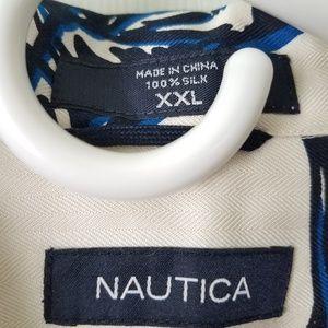 Nautica Shirts - Nautica silk shirt